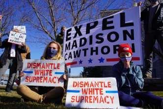Piden destitución de Madison Cawthorn, asalto al capitolio