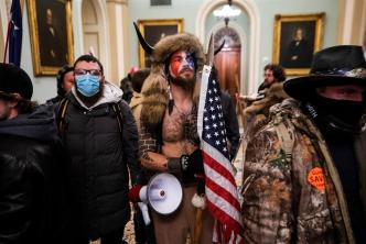 protestas con personas armadas ante toma de posesión de Joe Biden