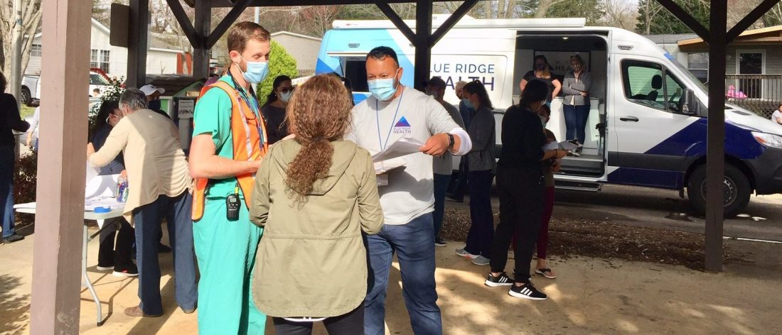 comunidad latina avanza en vacunación en Asheville