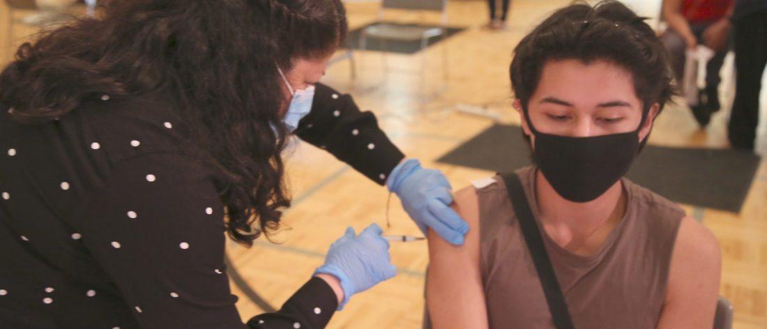 vacunas condado Mecklenburg