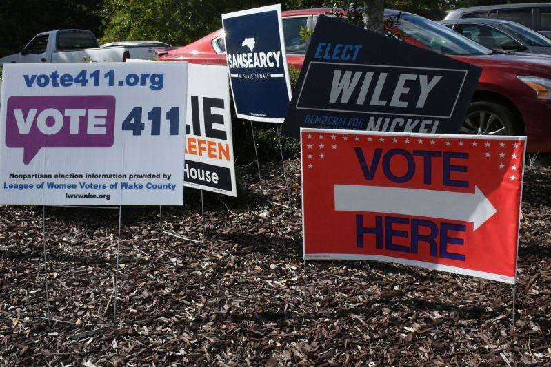 proceso electoral en Carolina del Norte