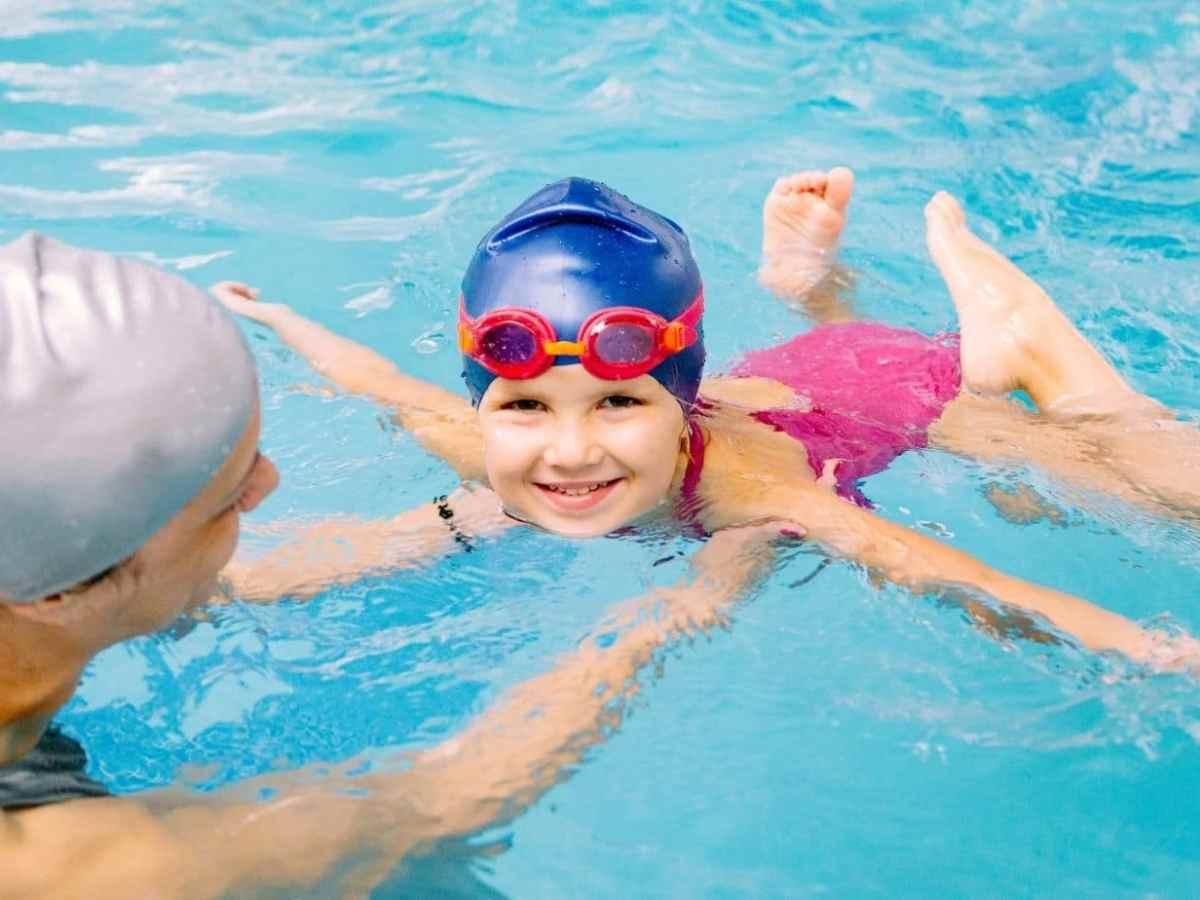 aprender a nadar en Raleigh