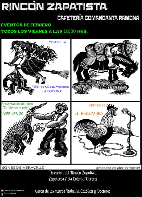 cartelera febrero