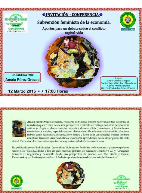 conferencia-Amaia Pérez
