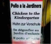 El misterioso caso del pollo que iba a la guardería