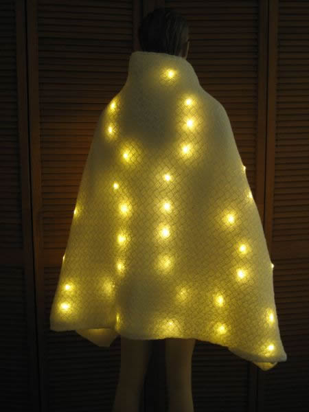 Lighted Capes Enlighted Illuminated Clothing