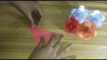 fold it using two corner