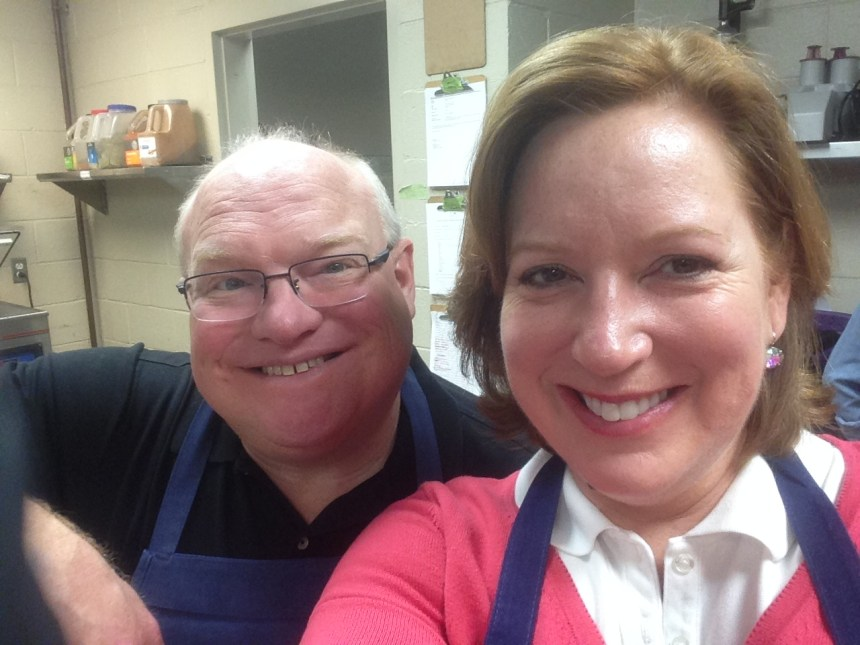Wellness cooking class with my hubby at Primland