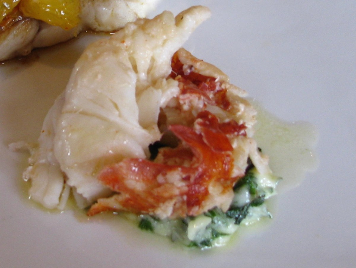 Primland Lobster with Lemon-Herb Butter