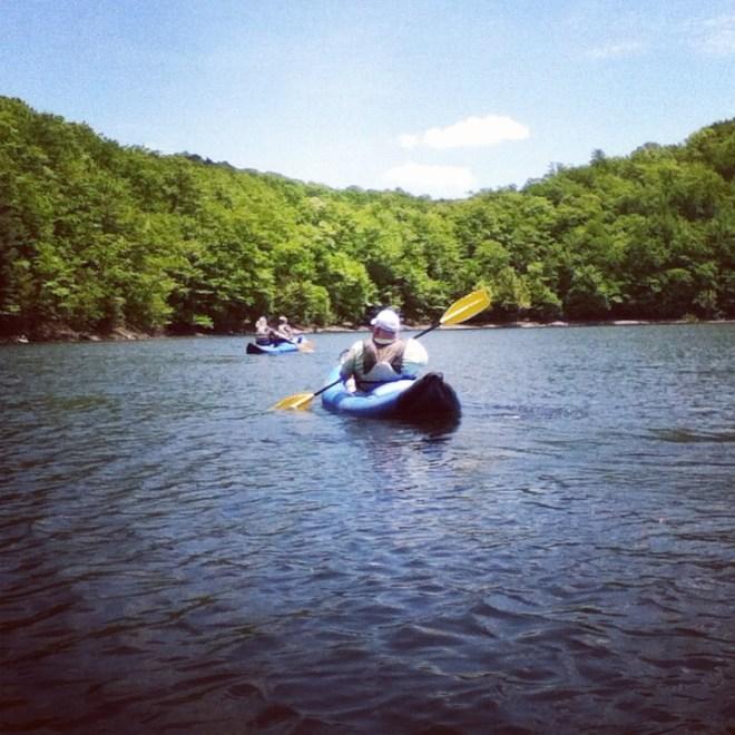 Funyacks on Dan River