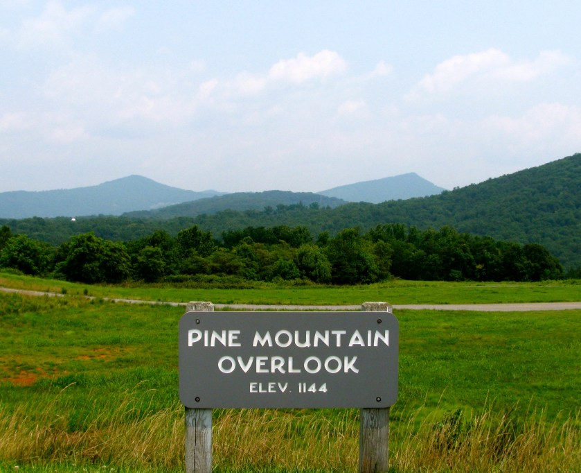Pine Mountain Overlook is just one of three overlooks at Explore Park