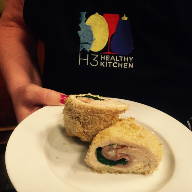 Chicken Cordon Bleu from Hilton Head Health
