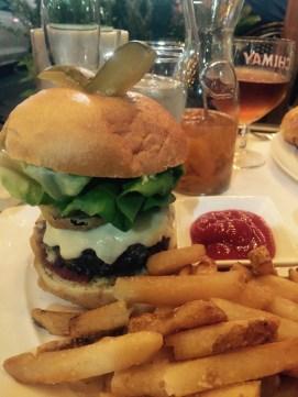 Signature Metro! burger