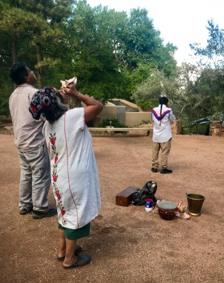 Sweat Lodge Ceremony at Sunrise Springs Resort