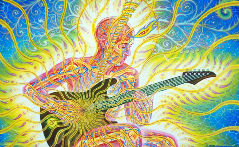 Artists Like David Gilmour Infuse and Supercharge Their Artwork With Kundalini Energy