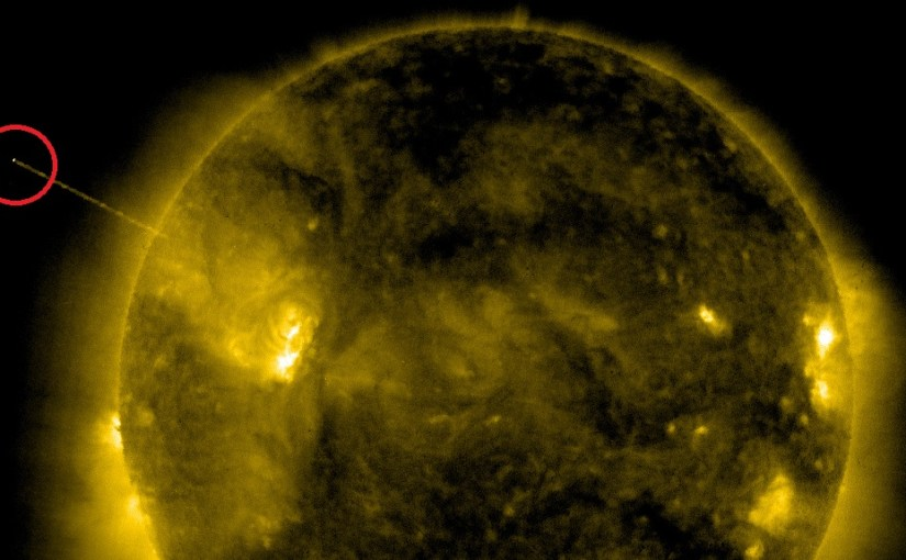 Are Alien UFOs extracting 'energy' from our Sun?   Ancient Code
