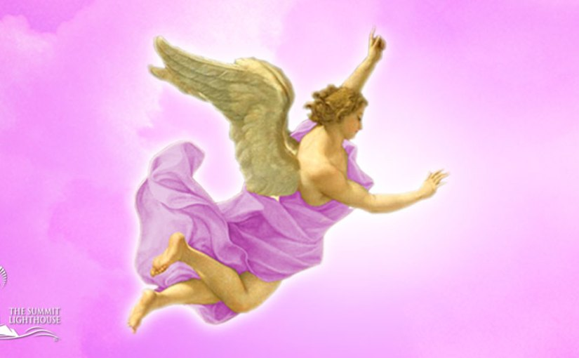 Archangel Zadkiel & Holy Amethyst – Violet Flame Angels