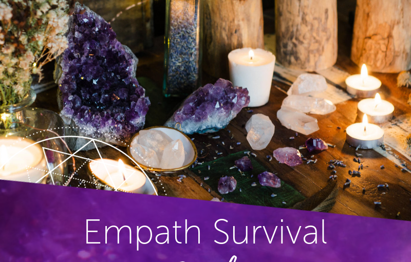 Empath Everyday Survival Guide: Crystals + Secrets for Sensitive Souls – Hibiscus Moon Crystal Academy
