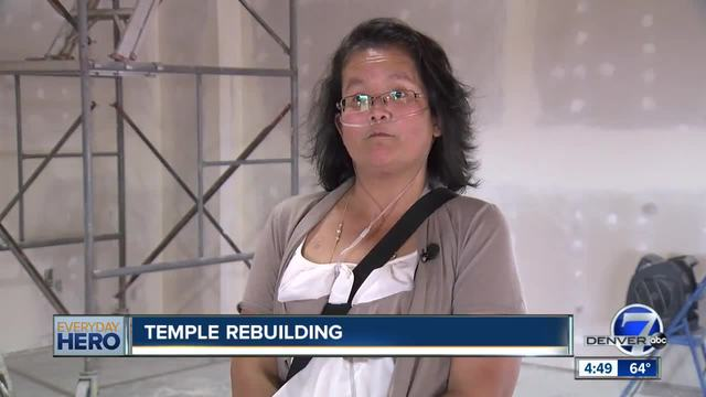 7Everyday Hero leads the rebuilding of a Lao Buddhist Temple