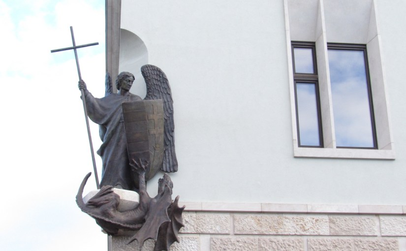 What Is St. Michael the Archangel Doing on the PM's New Office? – Hungary Today