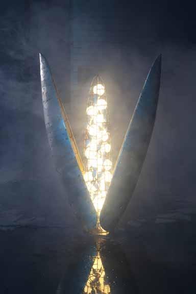 Light Works Exhibit Rocks Manhattan's Art World