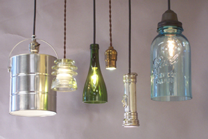 Repurposed Lighting Collection By Conant Metal & Light