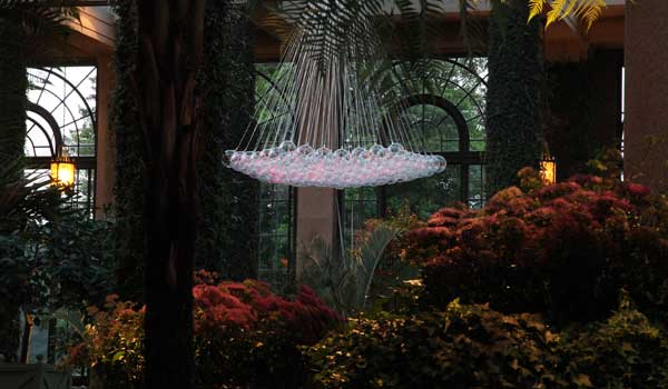 Bruce Munro Illuminates Longwood Gardens