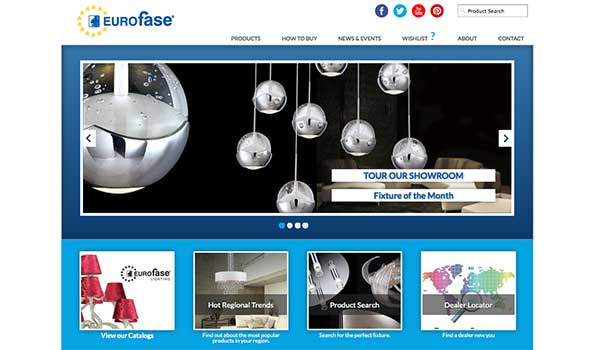Eurofase Upgrades Web Site to be Compatible With Mobile Devices