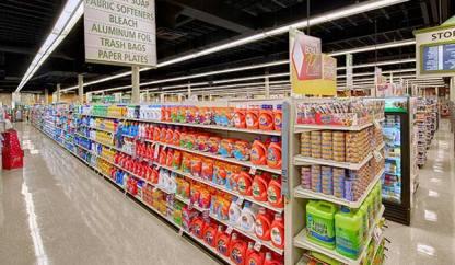 Cree lighting CS18, Lighting Tops Grocery Store