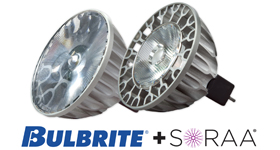 Bulbrite Announces Distributorship Agreement With SORAA