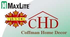 Coffman Home Decor Wins MaxLite Re-Stocking Sweepstakes