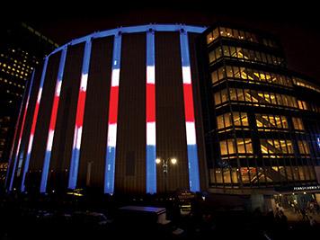 Madison Square Garden LED Makover