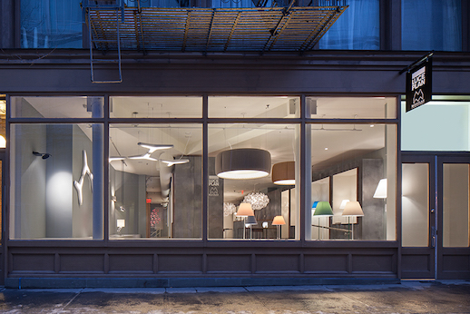 Luceplan and Modular Lighting Instruments Debut New NYC Showroom