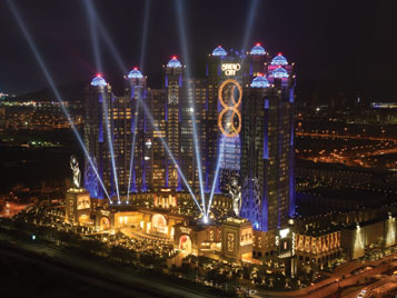 illumination Physics Lights Up Macau's Studio City
