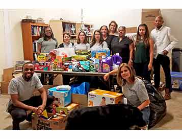 Crystorama Holds Flood Relief Supply Drive