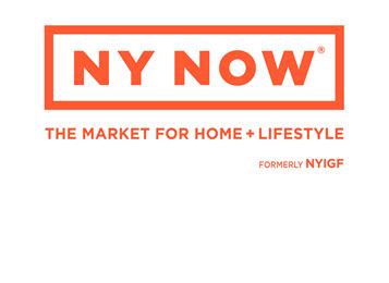 Contemporary Design Drives Innovation at NY NOW(r) Summer 2017 Market