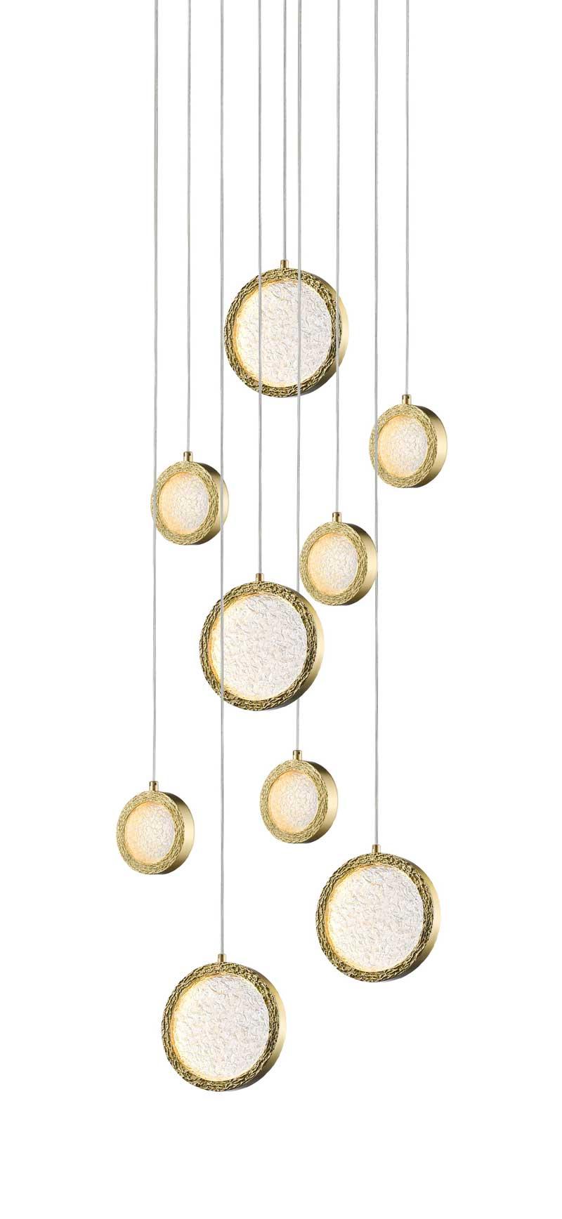 Avenue Lighting  Bottega Collection 9 Light