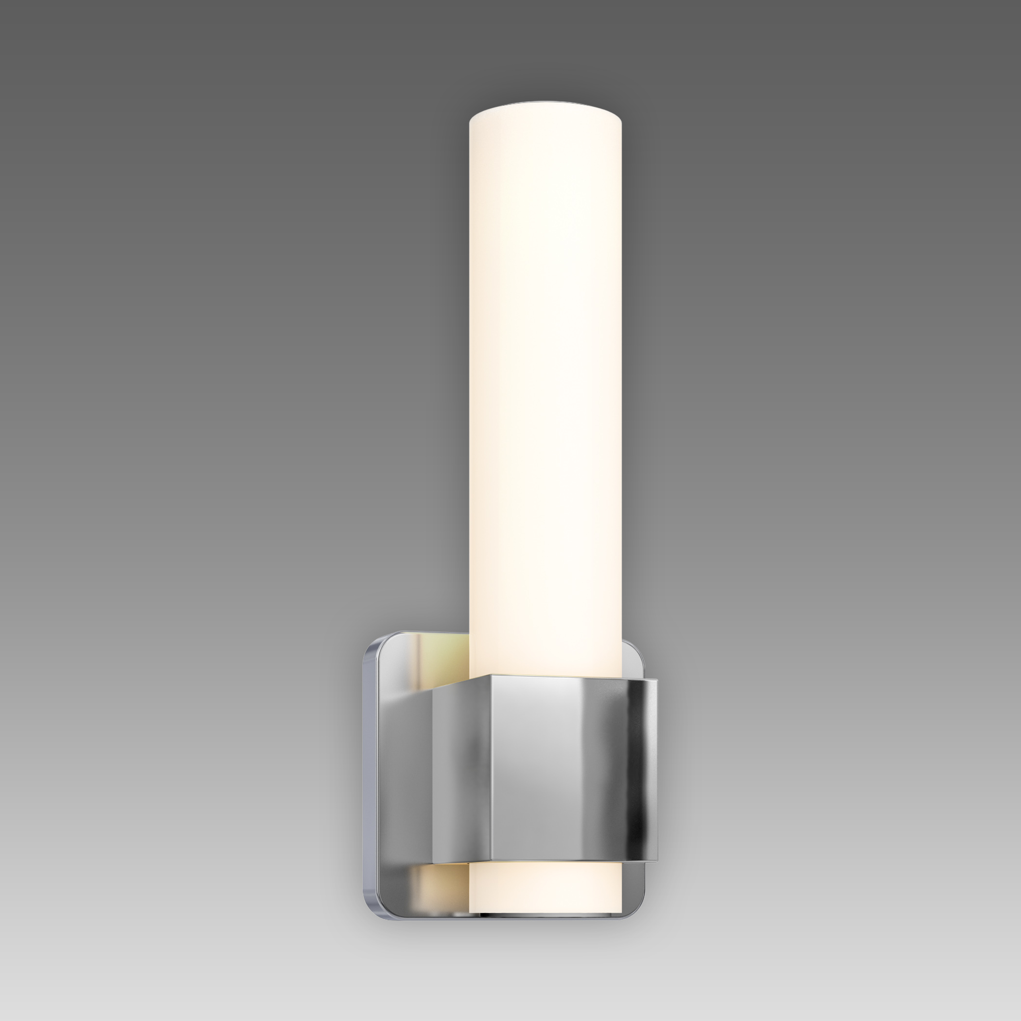 """DALS Lighting, Inc. """"12"""""""" Round Glass Lens LED  Vanity Light: LEDVAN002-12"""""""