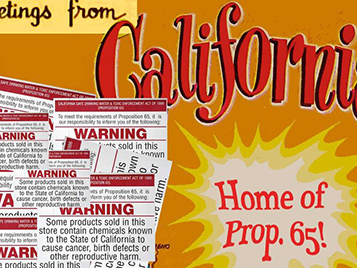 Prop65: Labeling Deters Lawsuits
