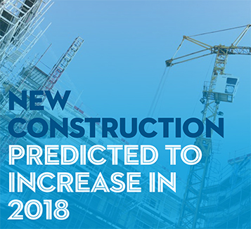 New Construction Predicted to Increase in 2018