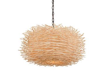 Bamboo Nest pendant