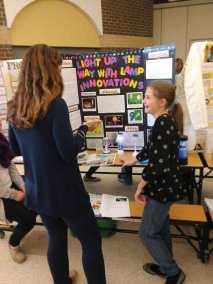 Emela Explaining her Project