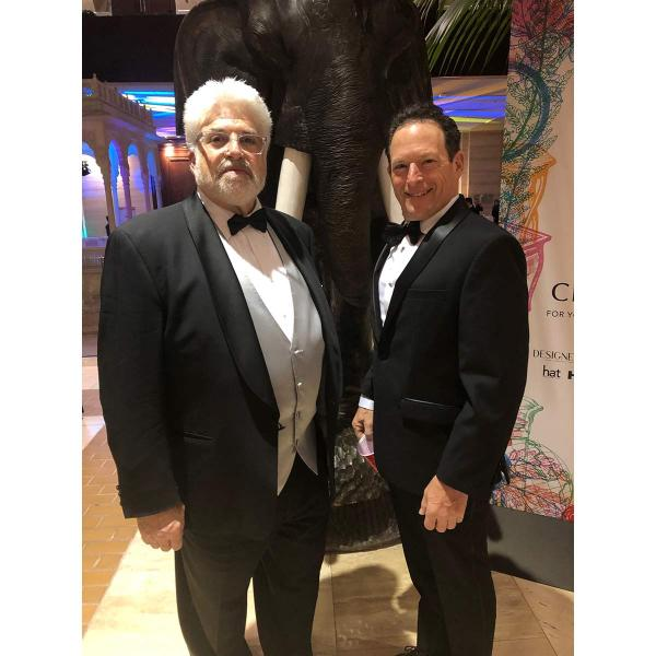 Reps Ted Weisbach (left) and Keith Eichenblatt attended the ARTS Awards.