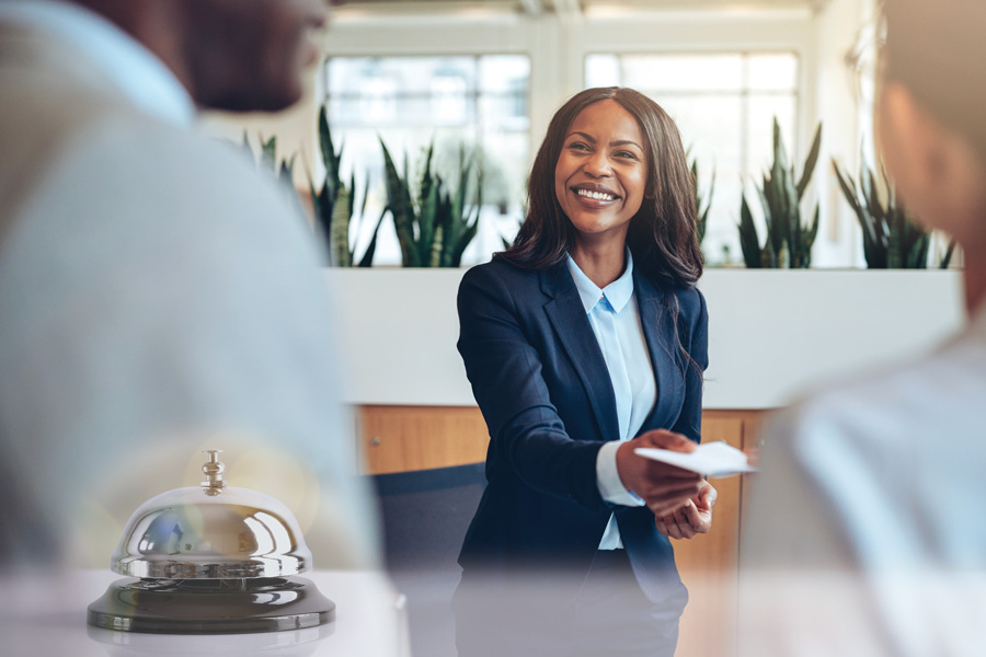 The Concierge Salesperson