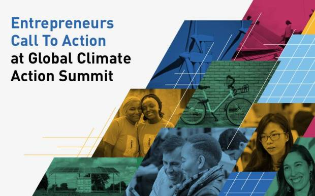Entrepreneurs Call To Action at Global Climate Action Summit