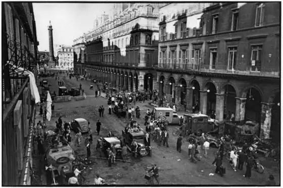 Henri Cartier-Bresson FRANCE. World War II. Liberation. Paris. 22-25th August.