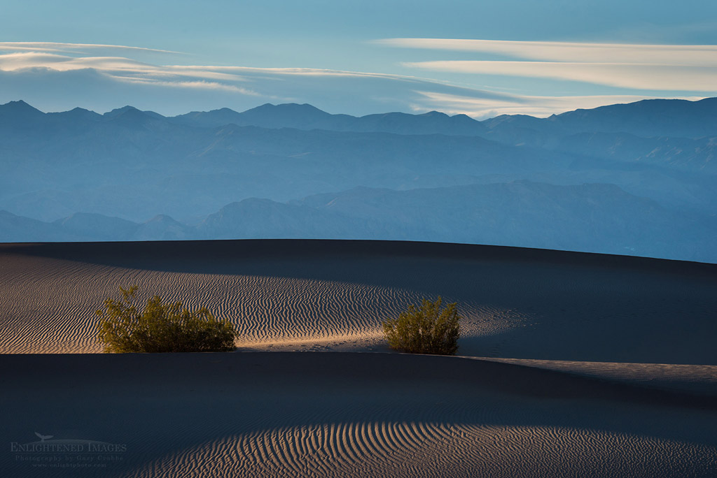 Photo: Mesquite Flat Dunes near Stovepipe Wells, Death Valley National Park, California