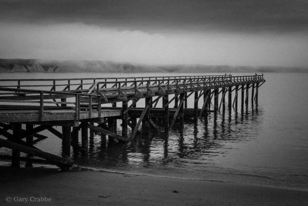 Photo: Boat ramp at the Historic Lifeboat Station at Drakes Bay, Point Reyes National Seashore, Marin County, California