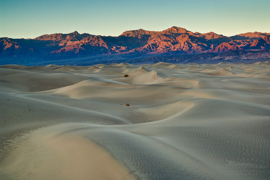 Photo: Mesquite Flat Sand Dunes, near Stovepipe Wells, Death Valley National Park, California