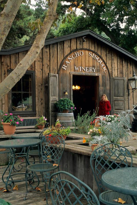 Photo: Rancho Sisquoc Winery, along Foxen Canyon Road, Santa Barbara County, California